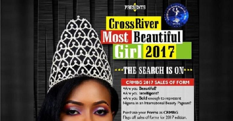Cross Rivers Most Beautiful Girl Flags off 2017 Registration