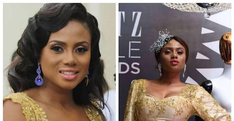 Chantelle Asante Slayed In  Her Engagement Dress To The Glitz Style Awards And She Nailed It!