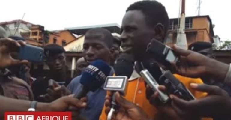 Trending Video: Thief Congratulates Police For Arresting Him