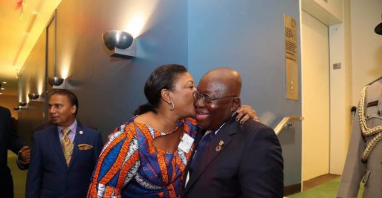 First Lady And Nana Addo Share Sweet Love Moments