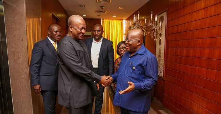 NPP's collaboration with former AG on ITLOS case wise – Mahama
