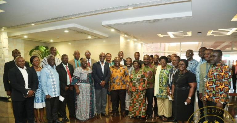 Government's Coordinated Programme Of Economic And Social Development Policies Ready—Akufo-Addo