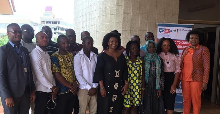 Curbing Irregular Migration: West Africa Democracy Radio Trains Ghanaian Radio Journalists