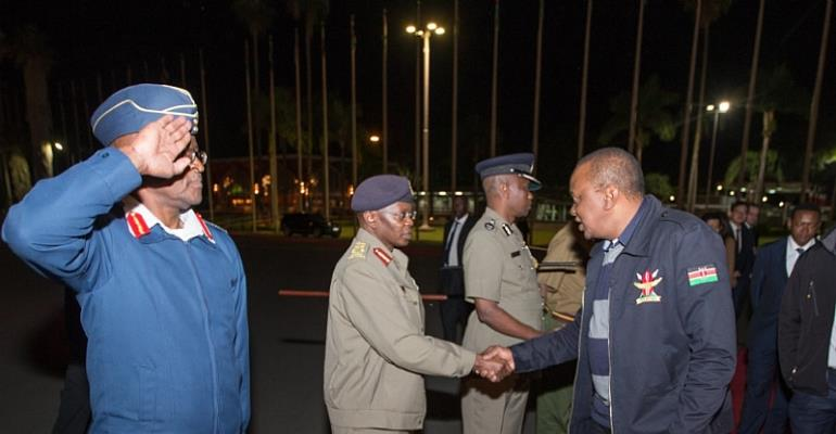 Here Is What's On The Kenyan President's Mind As He Flies To China