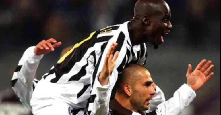 Appiah happy at Juventus
