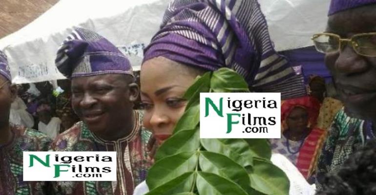 Popular Yoruba Actress, Toyin Ashawo To Re Mecca Bags Chieftaincy Title