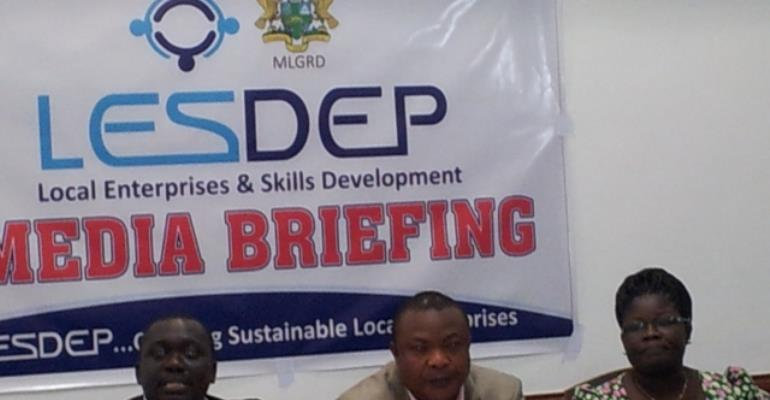 LESDEP to exceed target of creating 40,000 businesses