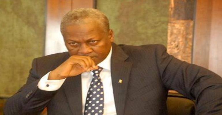 Confusion rocks burial of Mahama's late mother
