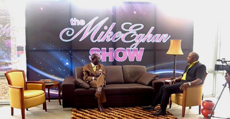 MIKE EGHAN TO RELAUNCH TALK SHOW ON ETV GHANA