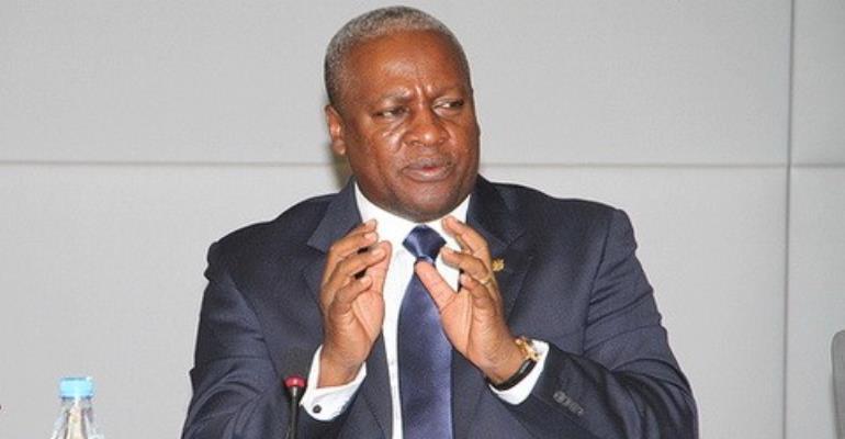 NPP has no intellectual property rights over free SHS- Mahama