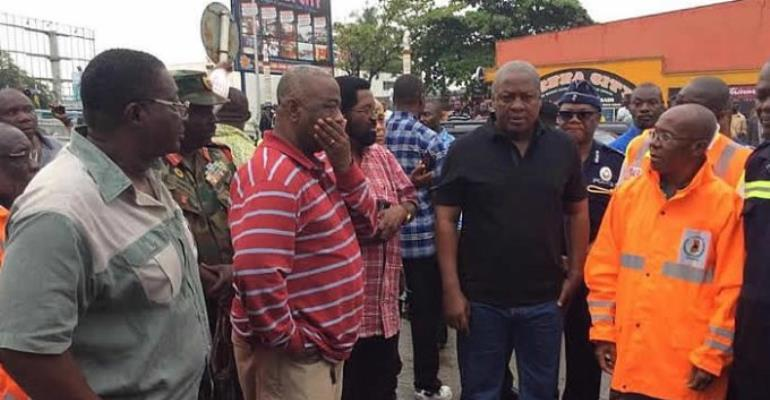 Floods: We must make sure this doesn't happen again - Mahama