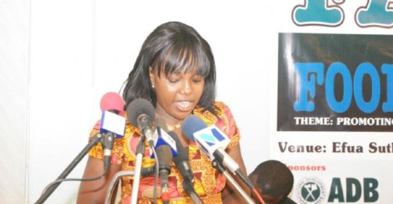 Ms. Alberta Nana Akyaa Akosa, Project Coordinator, FAGRO '09