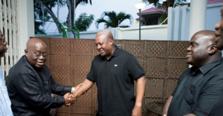 Nana Addo, Adjaho, others mourn with Mahama [Photos]