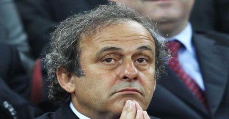 Uefa chief : Michel Platini