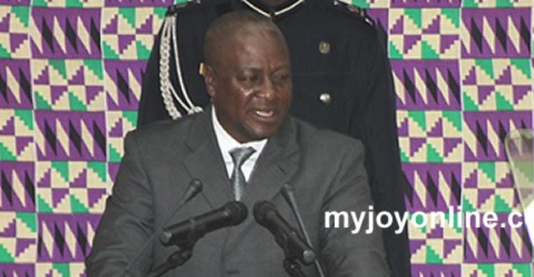 Full text of Prez Mahama's State of the Nation Address