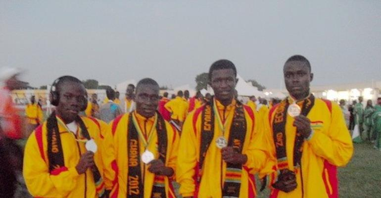 4x4 relay winning team