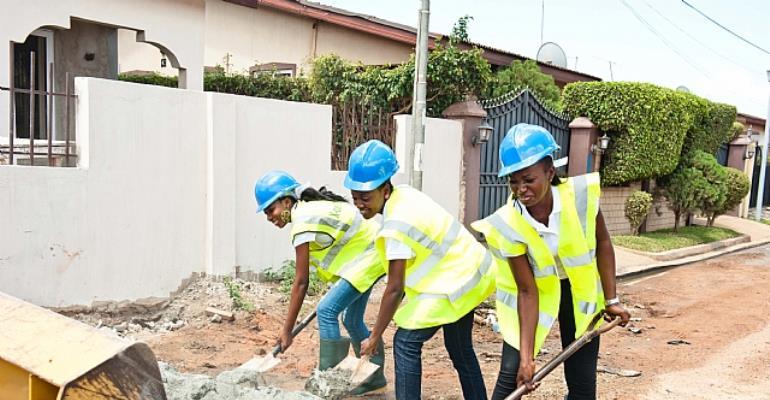 """Miss Ghana """"Ladies at Work"""""""