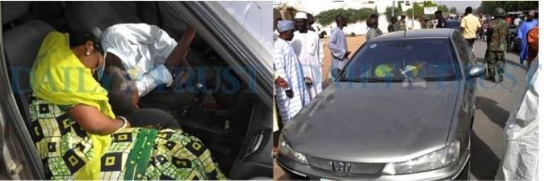 SAD NEWS: Couple found dead inside car in Kano