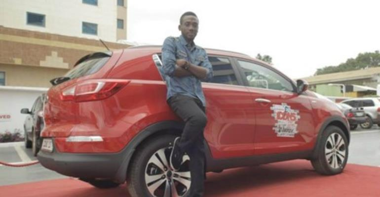 Ryan Henry Korsah winner of Vodafone ICONS Street Edition