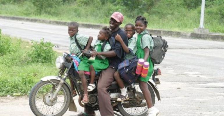 HOW GHANA CAN LEARN FROM NIGERIA- THE USE AND HISTORY OF OKADA MOTORBIKES