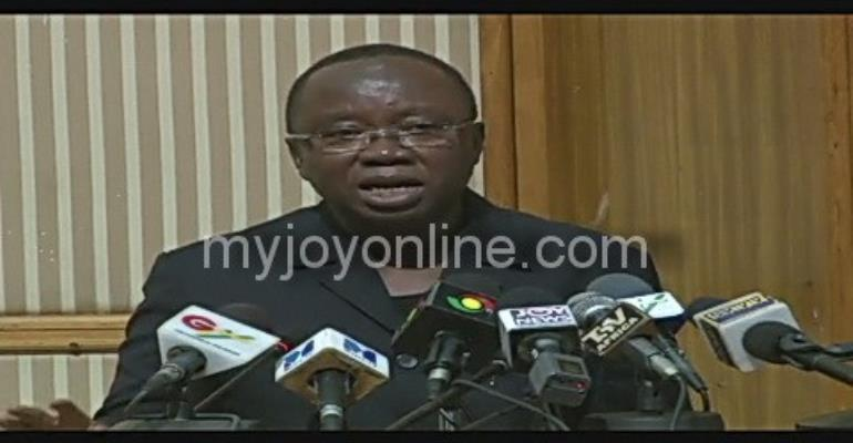 Chairman of Mills' Funeral Planning Committee, Mr Kofi Totobi Kwakye