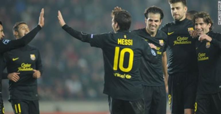 Lionel Messi rescues Barcelona: Champions League round-up