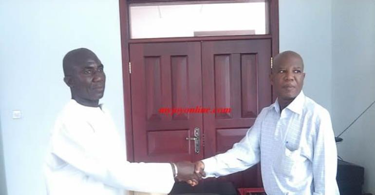 George Boateng refused forms to challenge Mahama