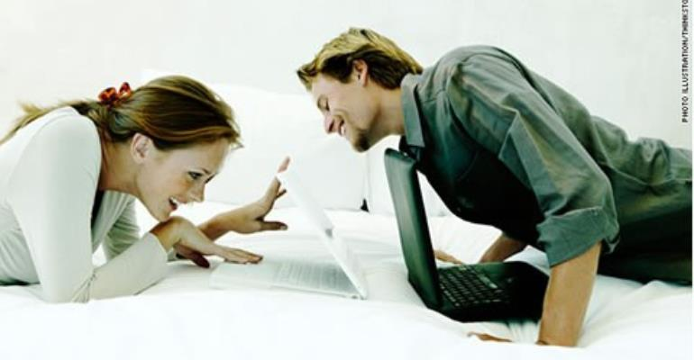 Digital services are cropping up for couples to have their own private social networks.