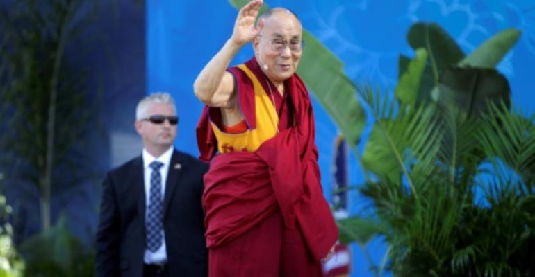 The 82-year-old Dalai Lama, who lives in exile in India, has had to cancel a visit to Botswana due to exhaustion.  By Bill Wechter (AFP)