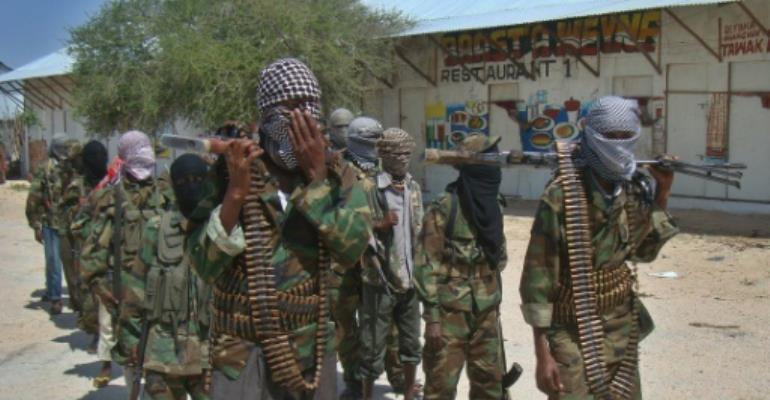 The Al-Qaeda-linked Shabaab has been fighting to overthrow successive internationally backed governments in Mogadishu since 2007 and frequently deploys car and truck bombs against military, government and civilian targets.  By Mohamed Abdiwahab (AFP/File)