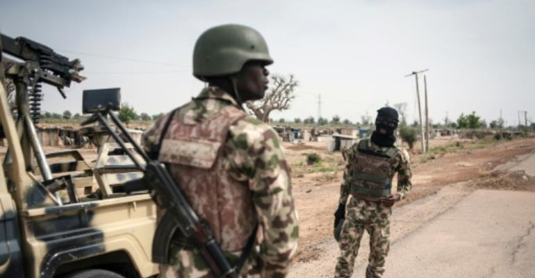 The Boko Haram gunmen are believed to have regrouped after Nigeria's military chased them out of the group's Sambisa Forest stronghold in the neighbouring state of Borno last month.  By Stefan Heunis (AFP/File)