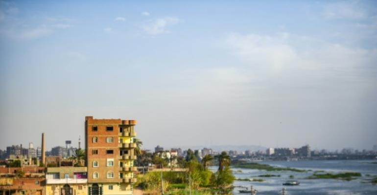 The government has denied it plans to expel residents of Warraq to make way for a luxury investment project.  By Mohamed el-Shahed (AFP/File)
