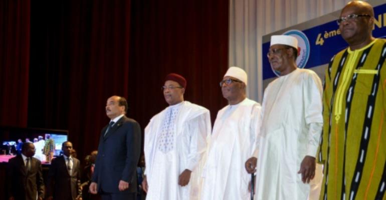 The EU funding boost comes as Burkina Faso, Chad, Mali, Mauritania and Niger, whose leaders attended a February 6 G5 Sahel summit in Niger, strive to tackle what one EU official warned is a