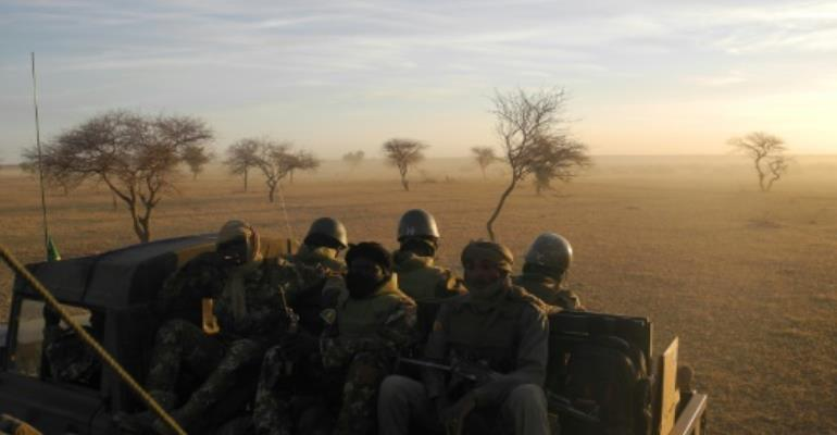 The G5 Sahel force is expected to be fully operational by the middle of 2018.  By Daphné BENOIT (AFP/File)