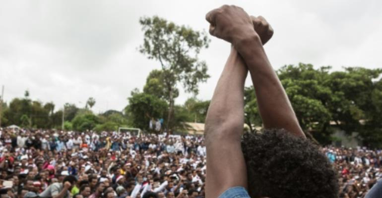 The Oromos have been staging protests over government policies they fear would deprive them of their lands.  By Zacharias ABUBEKER (AFP/File)