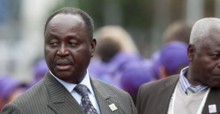 Togo President Faure Gnassingbe (L).  By Sebastien Bozon (AFP/File)