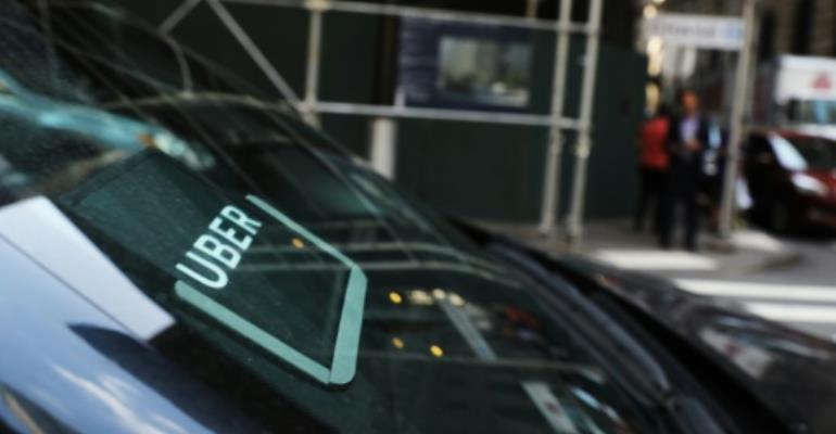 Uber drivers have faced regular violence and intimidation from traditional meter-taxi operators, who accused them of stealing their jobs.  By SPENCER PLATT (GETTY IMAGES NORTH AMERICA/AFP/File)