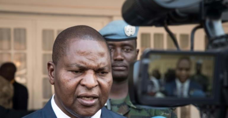 Under the peace accord's provisions, President Faustin-Archange Touadera agreed to form an