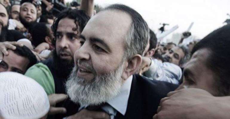 Sheikh Hazem Abu Ismail.  By Gianluigi Guercia (AFP/File)