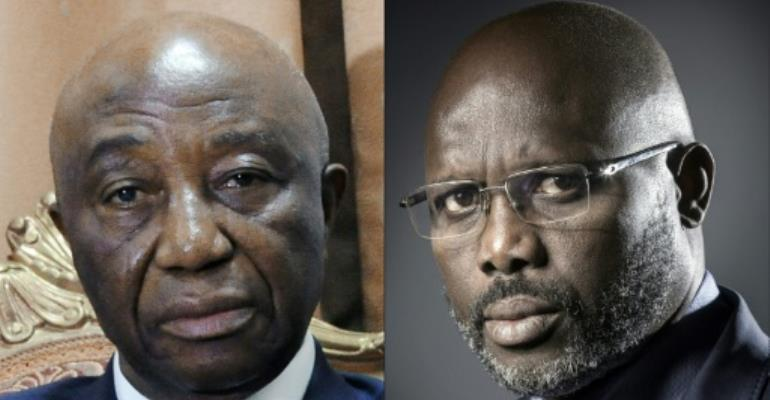 Liberia's governing party backs election challenge