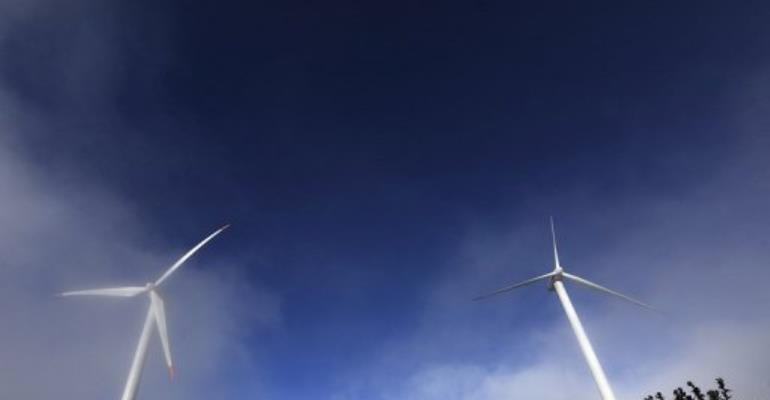 A total of 365 wind turbines will be erected near Lake Turkan.  By Tony Karumba (AFP/File)