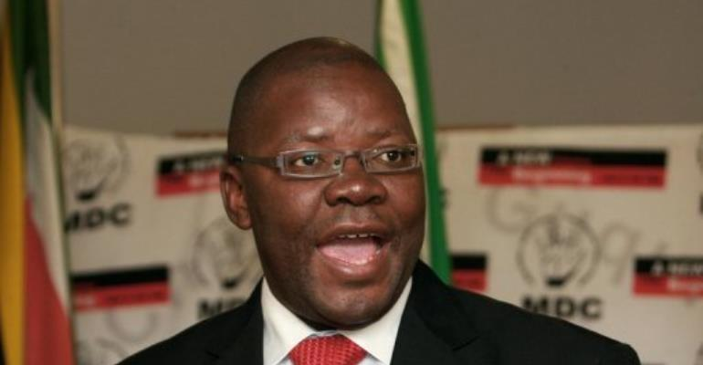 Tendai Biti.  By Desmond Kwande (AFP/File)