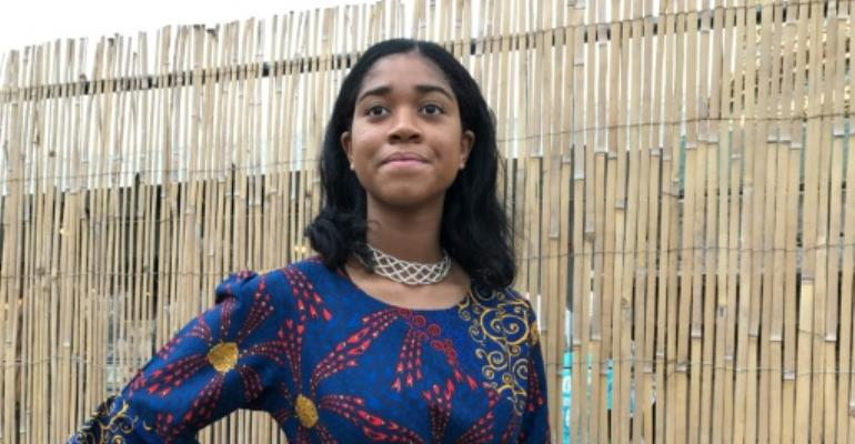 US teen \'unstoppable\' in fight for girl power in Africa