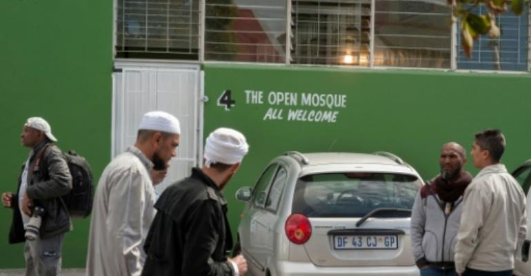 About 1.5 percent of South Africa's population is Muslim.  By Rodger Bosch (AFP/File)