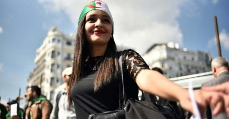 Algeria's protest leaders say that the departure of veteran president Abdelaziz Bouteflika is not the end of their struggle.  By RYAD KRAMDI (AFP)
