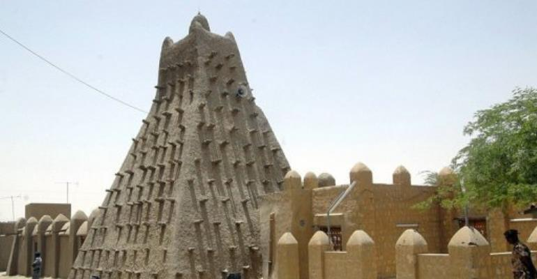 Timbuktu was recently listed as an endangered world heritage site because of the unrest sweeping through Mali.  By Habib Kouyate (AFP/File)