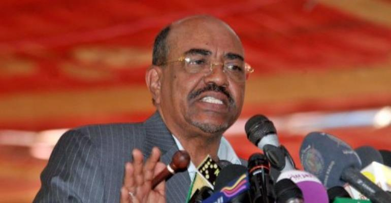 Sudanese President Omar al-Bashir.  By Ebrahim Hamid (AFP/File)