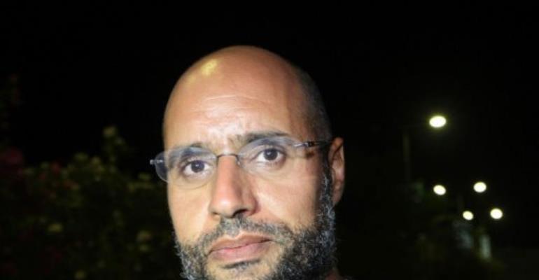 Seif, 39, has been in custody in Zintan since his arrest on November 19.  By Imed Lamloum (AFP/File)