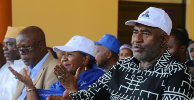 Azali initially came to power in a coup, ruled the Comoros between 1999 and 2006, and was re-elected in 2016.  By Youssouf IBRAHIM (AFP/File)