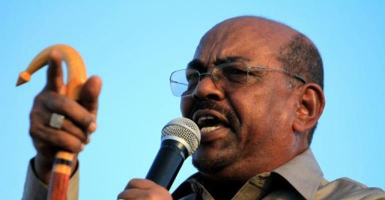 SUDAN-BASHIR.  By Ashraf Shazly (AFP/File)